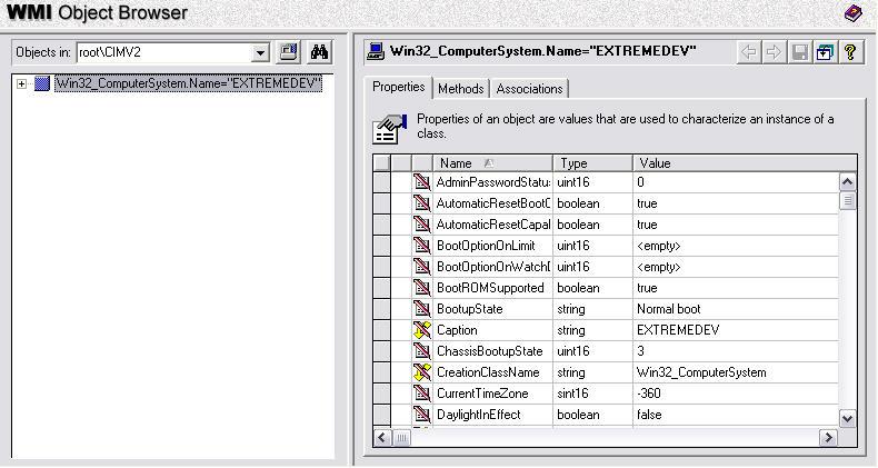 Introducing Windows Management Instrumentation (WMI): ASP